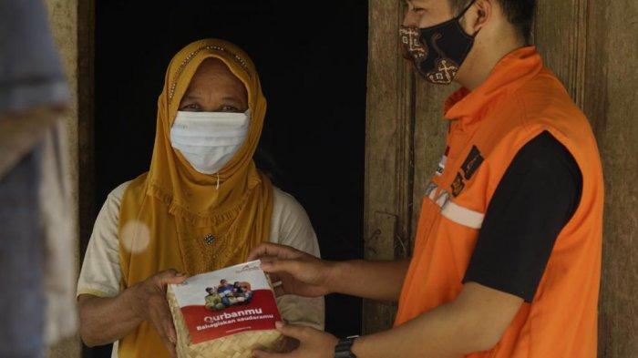 Bagikan Daging Kurban ke Daerah Terpencil di Boyolali, Laznas LMI: Saling Berbagi, Memberi