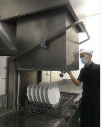 Pencucian Alat Makan Ala Hotel Santika Pekalongan di Masa Pandemi