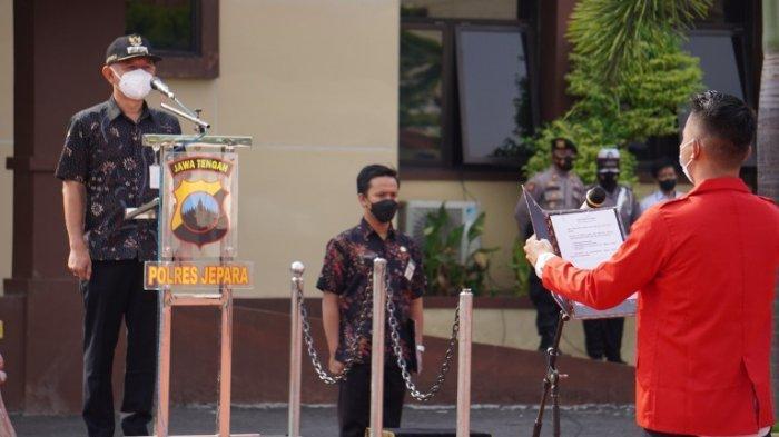 Pimpin Apel, Bupati Jepara Dian Kristiandi Minta Ormas Berperan Turut Jaga Ketenteraman Daerah