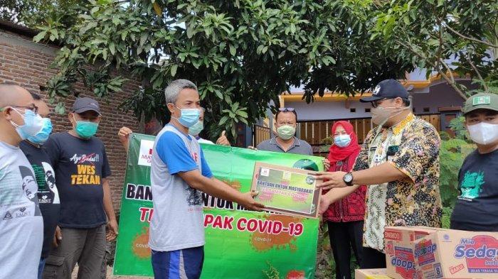 Yaqut Centre Salurkan Bantuan 1000 Paket Sembako Kepada Keluarga Isolasi Mandiri