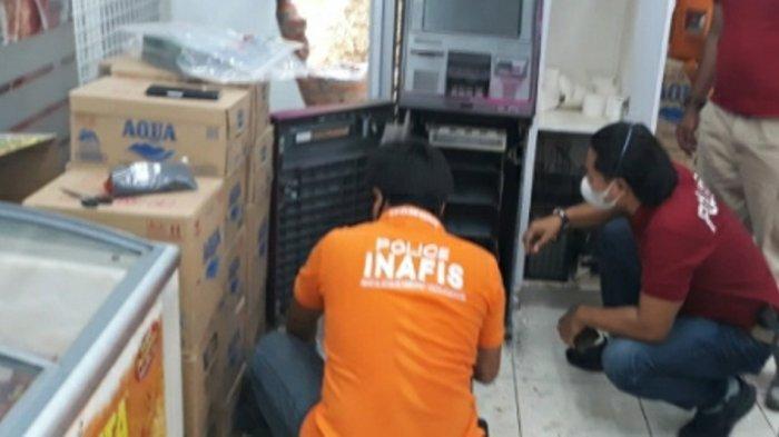 Pembobol Mesin ATM di Indomaret Plalangan Semarang Diduga Komplotan Lintas Kota