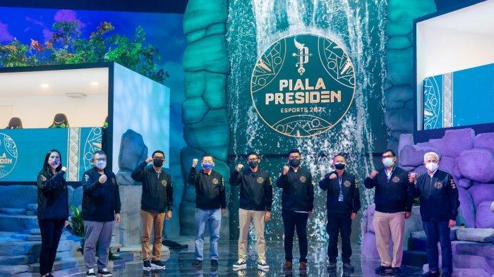Pembukaan Piala Presiden Esports 2021 Diwarnai Keindahan Alam dan Budaya Indonesia