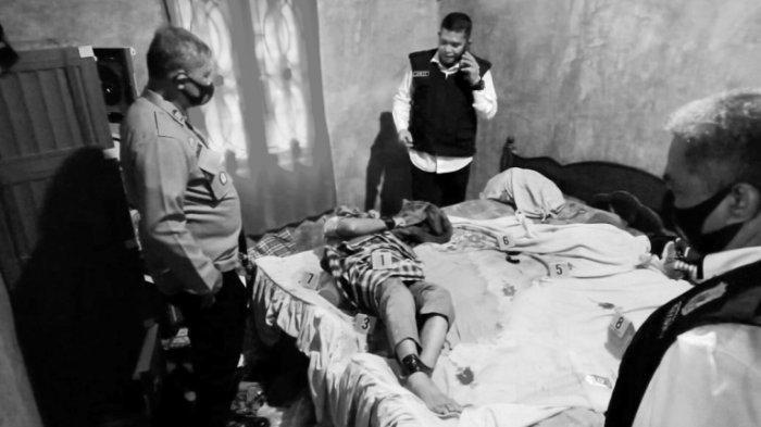 Wajah Irwansyah Pembunuh Ayah Kandung, Korban Diikat, Dilakban dan Disumpal Kaijn