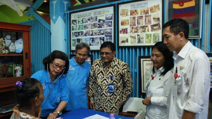200 Warga Bongsari Semarang Barat Ikuti Pengobatan Gratis PT Phapros