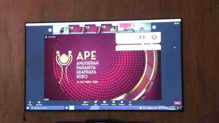 Pemkab Kendal Terima Anugerah Parahita Ekapraya Tahun 2020 dari Kemen PPPA