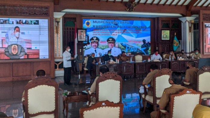 Bupati Pati Haryanto Sebut 4 Isu Strategis di Musrenbang RKPD 2022