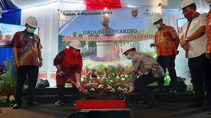 DPRD Kota Semarang Minta Pembangunan Taman MT Haryono Rampung Tepat Waktu