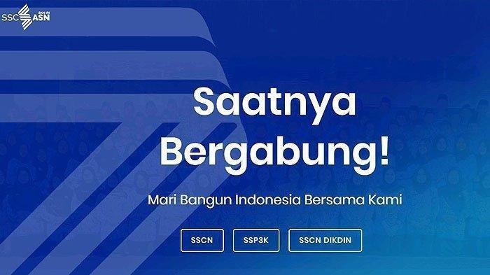 Portal sscasn.bkn.go.id Tata Cara Langkah-langkah Pendaftaran CPNS 2021