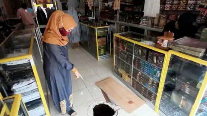 Totalitas Maling di Lampung Gali Lubang Tembus, Bobol Lima Toko, Bagaimana Hasilnya?