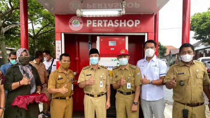Pemkab Semarang Resmikan Pertashop Bumdes Bergas Kidul