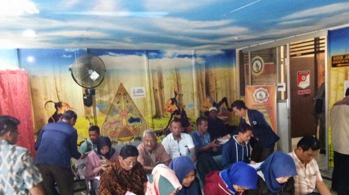 Pelamar Lowongan PNS Padati Kantor SKCK Polres Boyolali