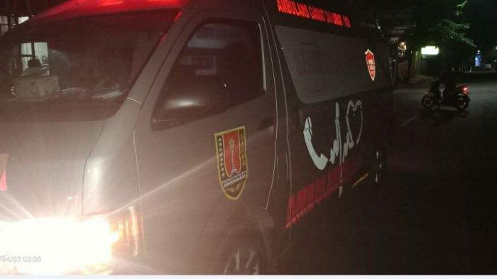 Seorang Pemuda Mabuk di Jalanan Semarang,  Berhenti Setelah Tabrak Mobil Patroli