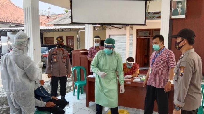 Ratusan Pemudik di Kebumen Jalani Rapid Test Antigen, Selanjutnya Isolasi Mandiri