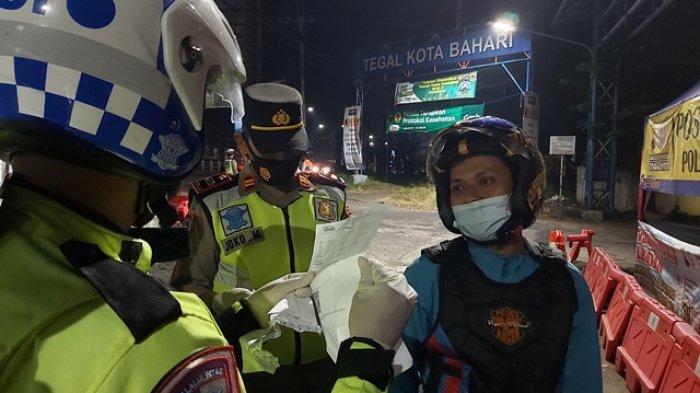 Perjuangan Diki Pemudik dari Tangerang Sudah Lewati 5 Pos Penyekatan Karena Hal Ini