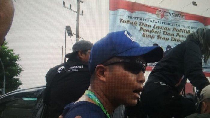 Perut Suci Dipukul Petugas Pengamanan Pawai Obor Asian Games