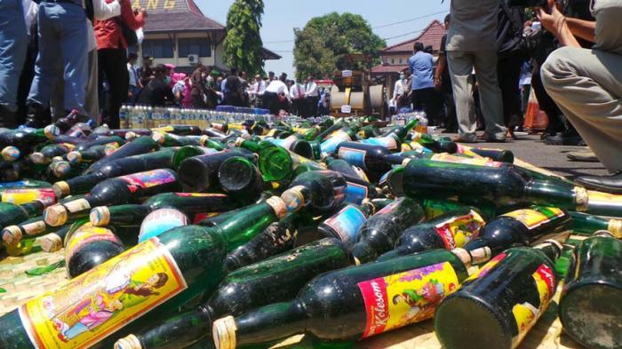 Alkohol Jadi Salah Satu Pemicu Tindak Kriminalitas