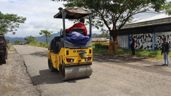 Dikeluhkan Banyak Lubang, Jalan Pucang-Jenggawur Banjarnegara akan Dibeton 2021
