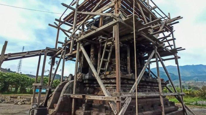 Restorasi Candi Setyaki Dieng Banjarnegara Hampir Selesai, Akan Jadi Magnet Baru Bagi Wisatawan