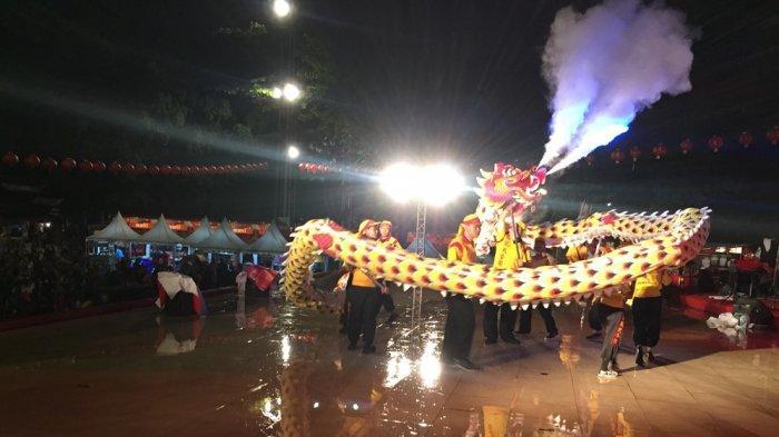 Meskipun Hujan, Festival Cheng Ho di Klenteng Sam Poo Kong Tadi Malam Tetap Meriah