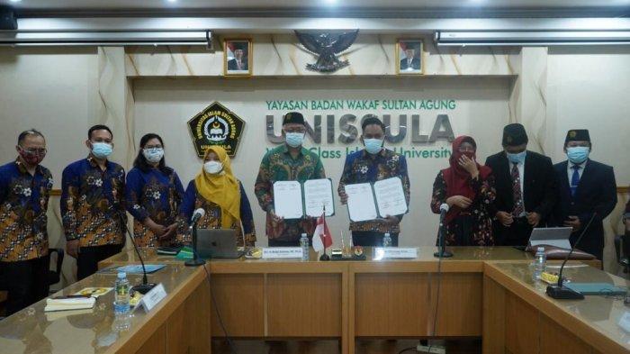 Unissula Semarang Perkuat Kerjasama dengan Nusaputera