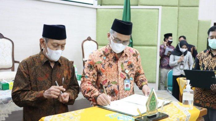 Jalin MOU dan MOA, Rektor UIN Walisongo Semarang: Semoga Bermanfaat bagi Mahasiswa