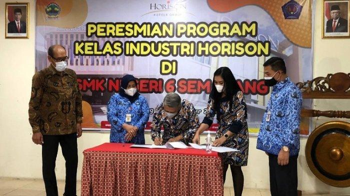 Hotel Horison Group Ikut Penyelarasan Kurikulum dalam Kelas Industri di SMKN 6 Semarang