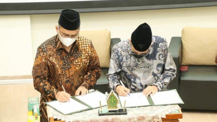 Penandatanganan MoU antara UIN Walisongo dan UIN Banten