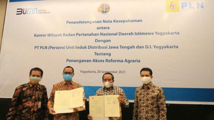 Kanwil BPN DIY Gandeng PLN dalam Penanganan Akses Reforma Agraria