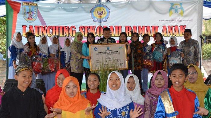 SMP Negeri 10 Salatiga Dideklarasikan Jadi Sekolah Ramah Anak