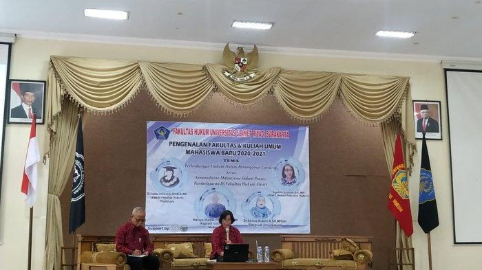 Dosen Unisri Doktor Lusia Indrastuti: Penanganan Covid-19 Dilindungi Hukum