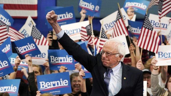 Pilpres AS 2020 - Menangi Primary New Hampshire, Bernie Sanders Penantang Terkuat Donald Trump