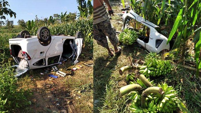 Viral Nasib Sial Maling Pisang Asal Grobogan di Sukolilo Pati, Mobilnya Hancur Dirusak Massa