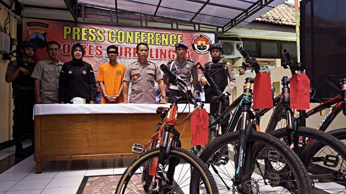 Setiap Maghrib YAW Rutin Berkeliling Curi Sepeda di Purbalingga, Dijual di Facebook