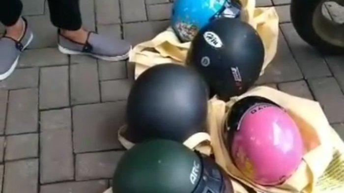 Seorang WNA Curi 5 Helm di Bali, Tidak Ditahan karena Alasan Ini