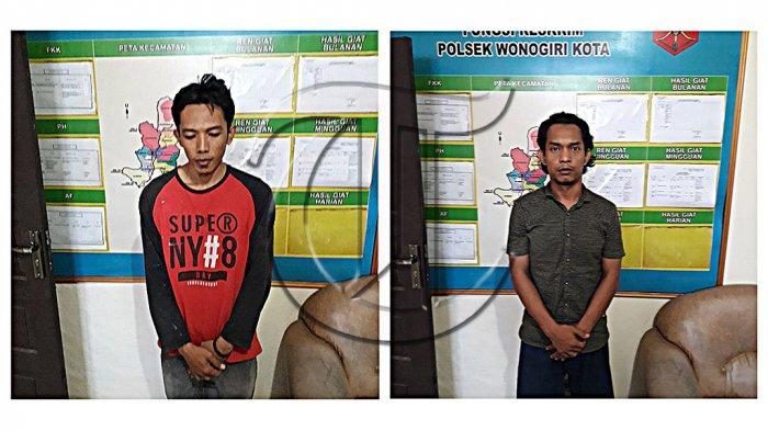 Polres Wonogiri Sukses Tangkap 2 Pencuri Barang PT PPI Senilai Rp 150 Juta, Ternyata Karyawan Dalam