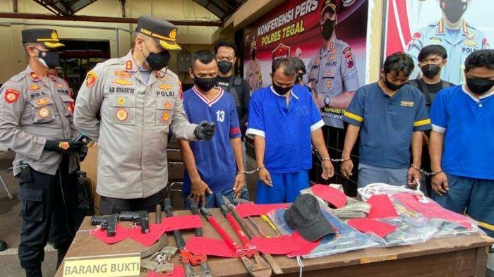 BERITA LENGKAP: Sekuriti Diancam dengan Airsoft Gun, Komplotan Rampok Satroni Pabrik Garmen di Tegal