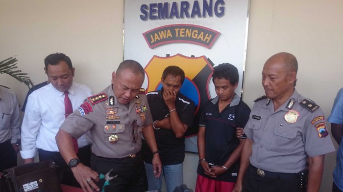 Keliling Kota Semarang Naik Mobil Pikap, Dua Pencuri Ini Gasak 47 Unit AC