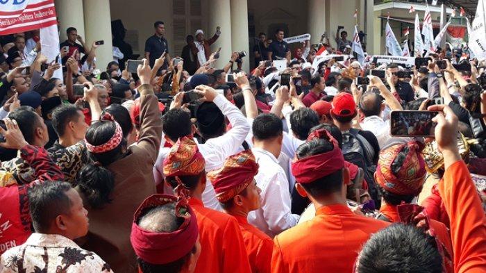 Jokowi-Ma'ruf Amin Daftar ke KPU, 4.000 Personel TNI-Polri Disiagakan