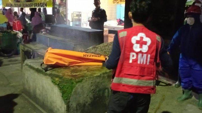 Penemuan Mayat di Sragen, Tergeletak di Pangkalan Ojek Pasar Bunder