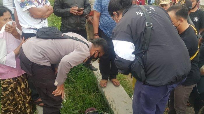 Mayat Bayi Ditemukan Bersama Obat Perangsang Melahirkan dalam Tas Ransel di Selokan
