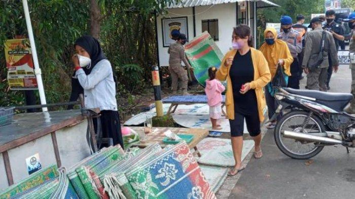 Petugas Gabungan Langsung Turun Lapangan, Selama PPKM Darurat Obyek Wisata di Batang Diminta Tutup