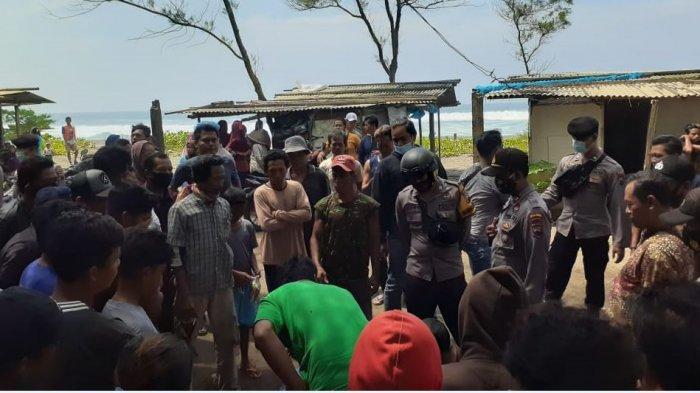 Kronologi Pria Diamankan Warga di Pantai Bopong karena Dituduh Mau Mencuri