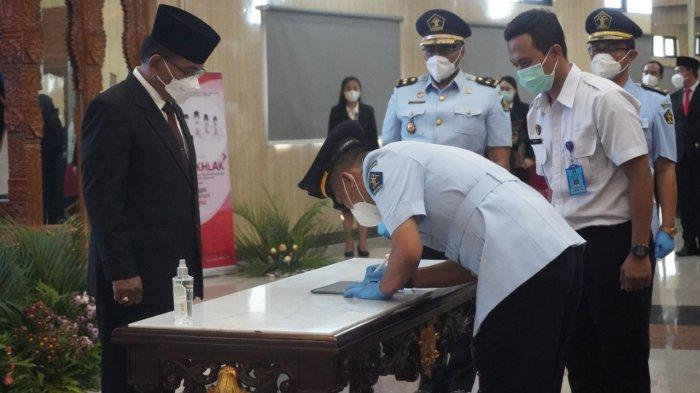 Warga Korea Ini Resmi Pindah Kewarganegaraan Indonesia, Prosesnya di Kemenkumham Jateng