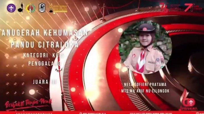 Bertabur Prestasi, Kwarcab Banyumas Raih Lima Anugerah Kehumasan Pandu Citraloka
