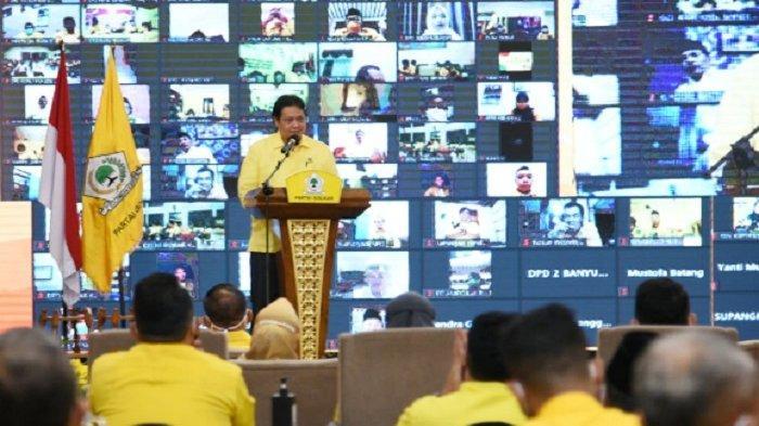 Airlangga Hartarto : Keputusan Partai Golkar Sudah Jelas, Kader Harus Kerja