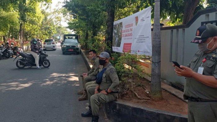 Hari Pertama Wajib Naik Angkutan Umum, Satpol PP Kota Semarang Diterjunkan di 25 Titik