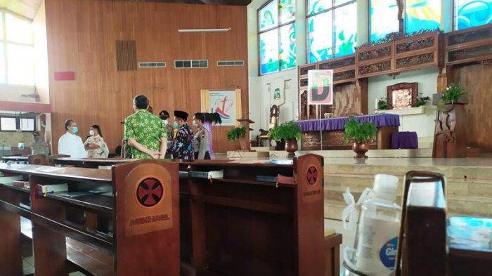 Pengaturan Ibadah Natal, Gereja Katedral Purwokerto Tidak Menerima Jemaat Luar Kota