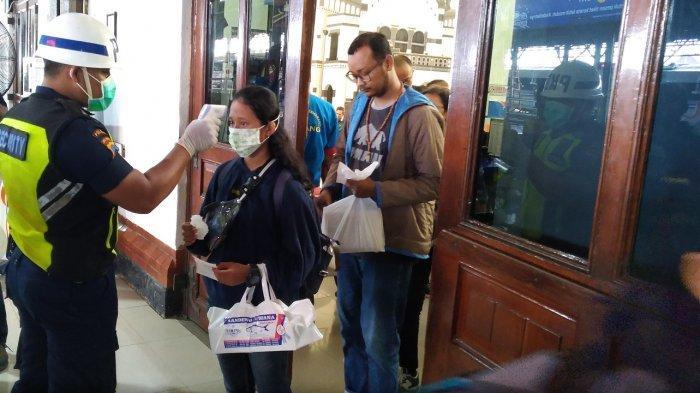 Cegah Virus Corona, Penumpang Kereta Api Suhu Badan di Atas 38 Derajat Tak Boleh Naik, Tiket Hangus?
