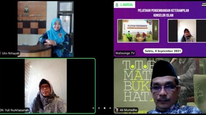 Tingkatkan Keterampilan Mahasiswa, UIN Walisongo Adakan Pelatihan Pengembangan Konselor Islam