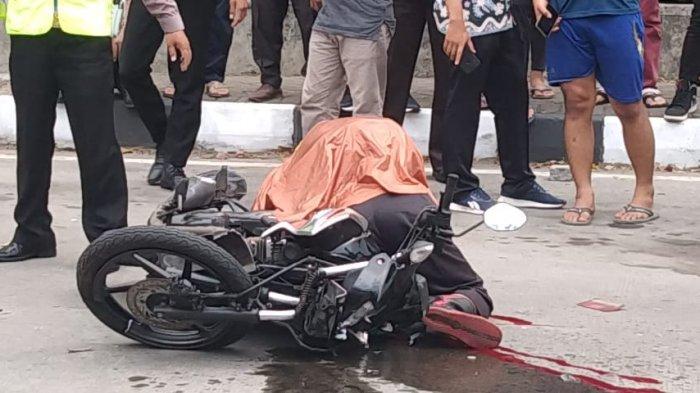 Imroni Jambu Tewas Kecelakaan di Jalan Perintis Kemerdekaan, Motor Tabrak Bokong Truk